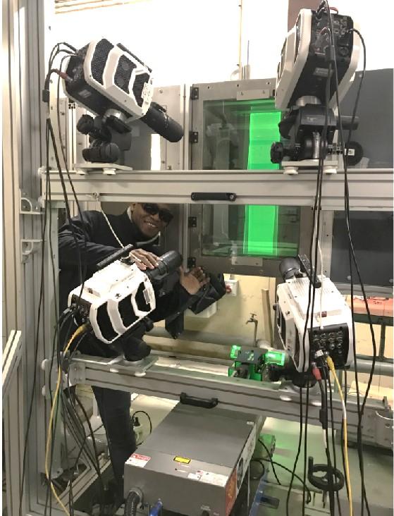 Mesures 3D, résolues en temps, de vitesses dans les écoulements aérodynamiques